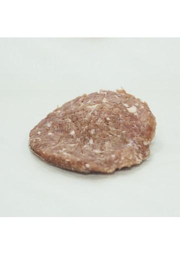 hamburguesa de pavo con cebolla